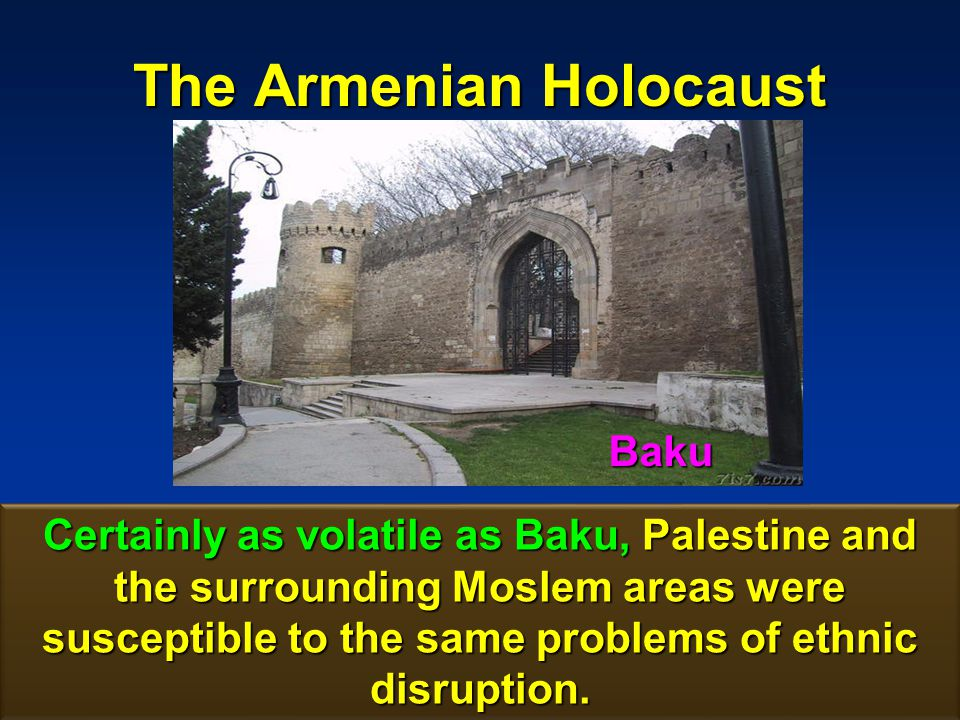 The Armenian Holocaust 161 Although Rothschild was by far the single most important source of funding for the Jewish settlements in Palestine, his intentions were primarily for investment purposes Although Rothschild was by far the single most important source of funding for the Jewish settlements in Palestine, his intentions were primarily for investment purposes.