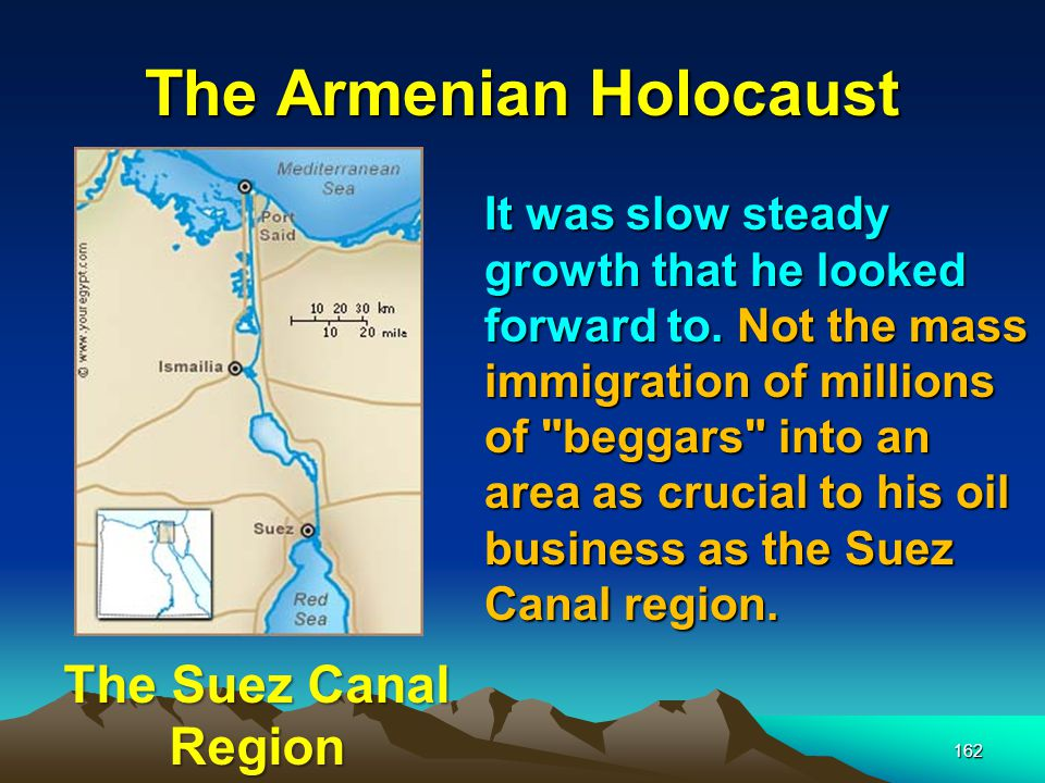 The Armenian Holocaust 163 The Armenian Holocaust would pave the way for the Holocaust of WWII