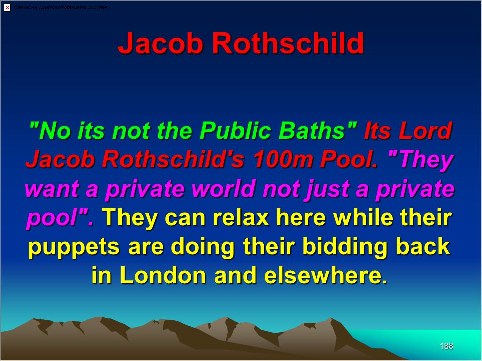 The Rothschilds Summed Up In German History 189 The Rothschilds introduced the rule of money into European politics.