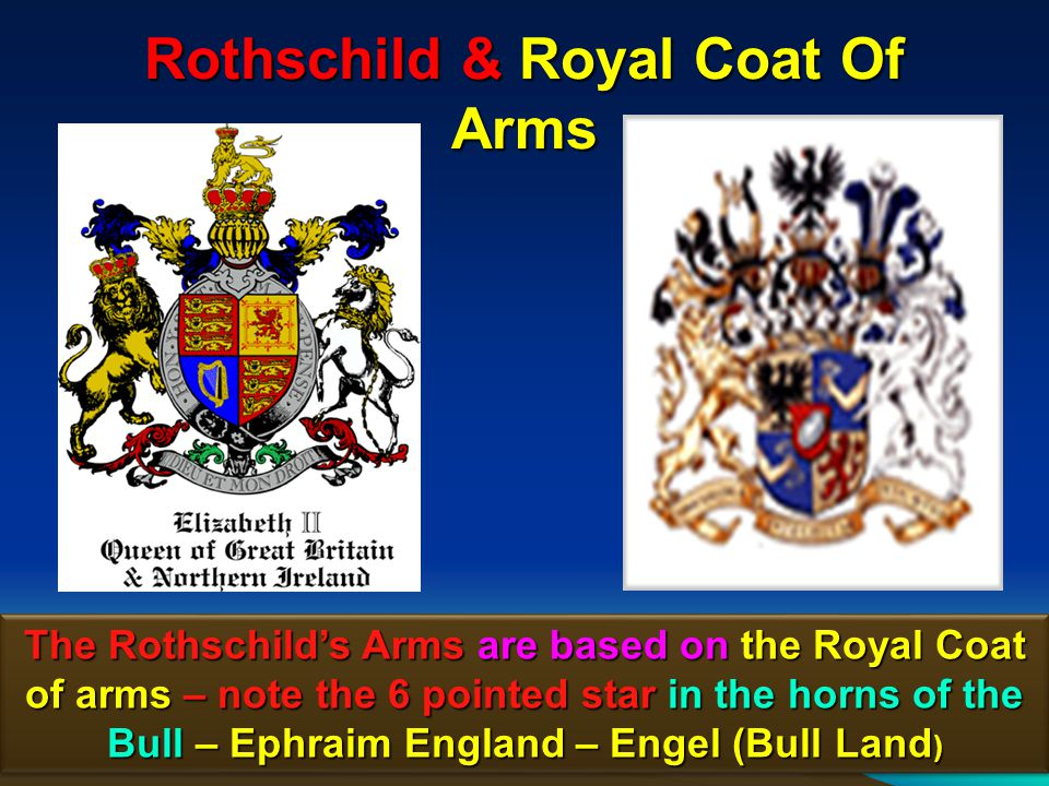 42 Trinity Broadcasting Network Note the similarity to the Rothschilds coat-of- arms.