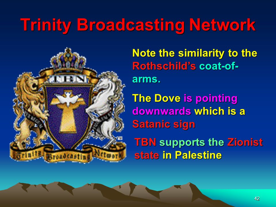 43 Rothschilds 5 Spears (Sons) Here we see part of the Rothschild coat of Arms – the 5 spears representing the 5 sons Notice that the 5 spears are pointing upwards (from Hell?) pointing towards heaven to make war.