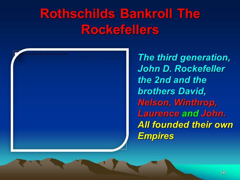 57 Rothschilds Bankroll The Rockefellers David Rockefeller, World Banker meets with retired Terrorist (rags to Riches) President Mandela