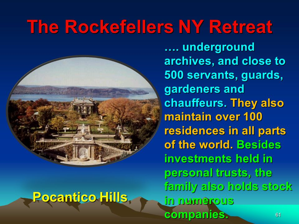62 Rothschilds Involved In The Postal Service The five Rothschild brothers, each in the five major European capitals set up their own private courier system which was faster than the regular mail.