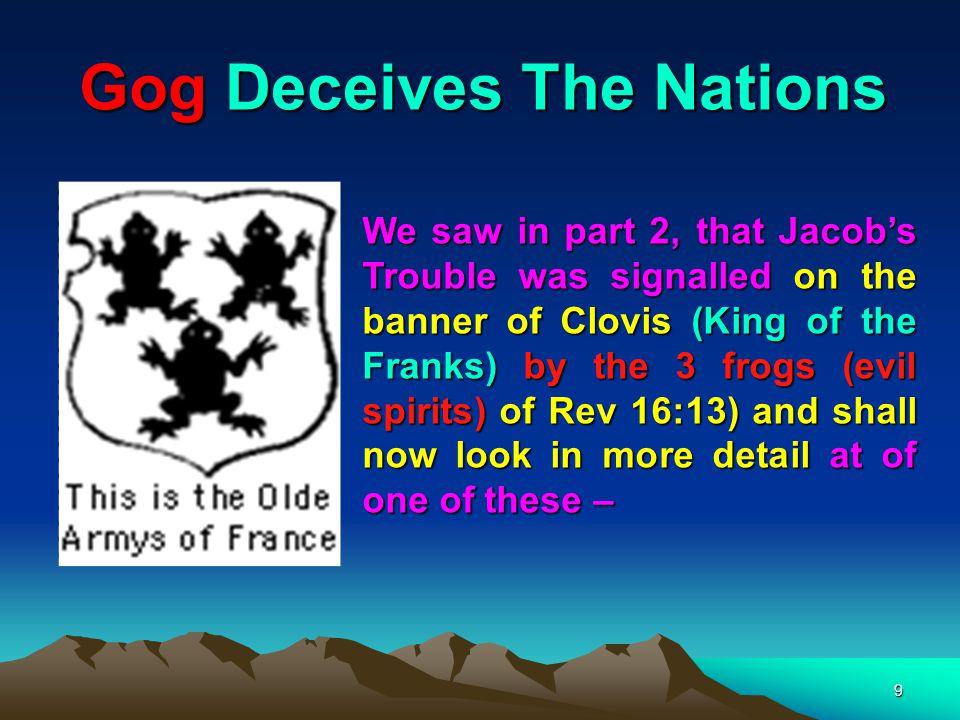 10 … the Rothschilds – the other 2 being Weishaupt (Illuminati) & Loyola (Jesuits).