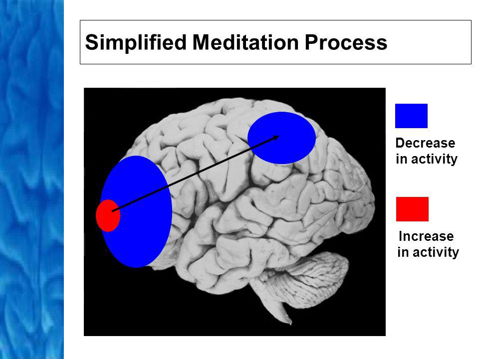 Activation of Limbic System Activation of hippocampus confers emotional value to experience triggers the autonomic nervous system Maximal activation of autonomic nervous system lead to a blissful, peaceful state via parasympathetic system and then a mentally clear and alert state via sympathetic system