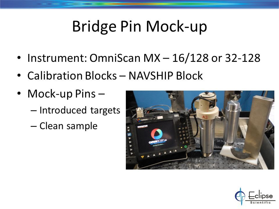 Mock-up Reference Sample Introduced Targets