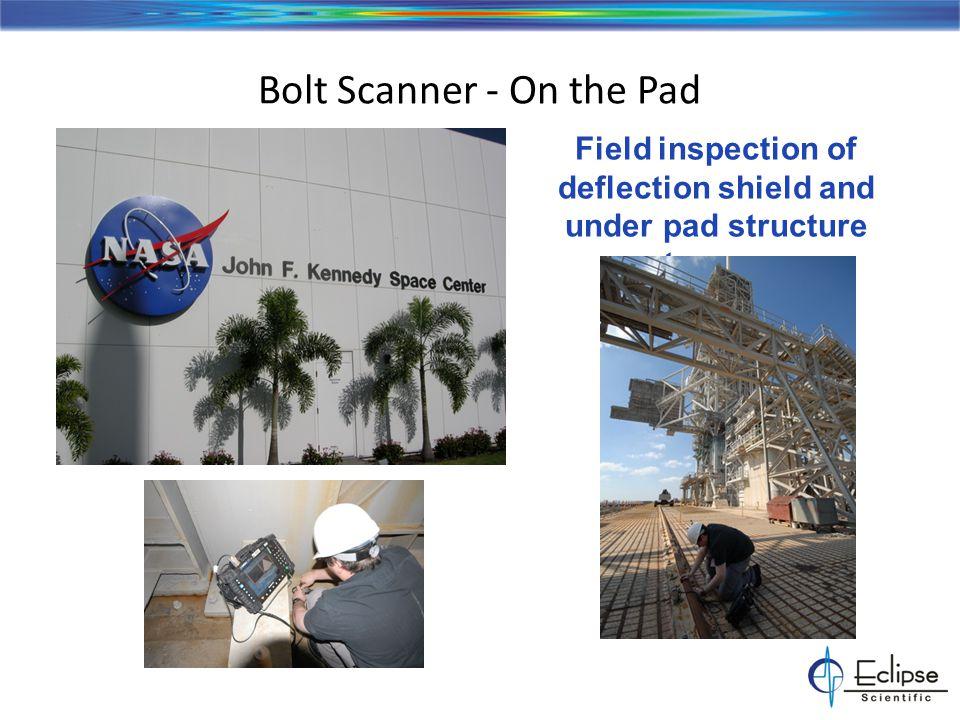 Bolt Scanner - Transmission Tower Bolts Field inspection of high voltage power transmission towers