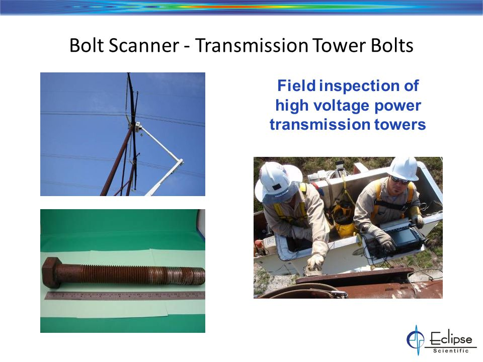 Bolt Scanner - Solution Packages Bolt, Stud and Shaft Inspection Bolt Scanner - Solution Packages