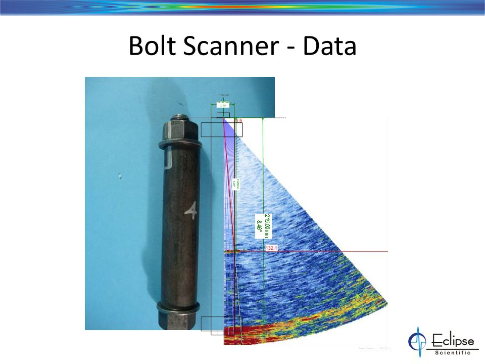 Bolt Scanner - Transmission Tower Bolts ESBeamTool Technique development