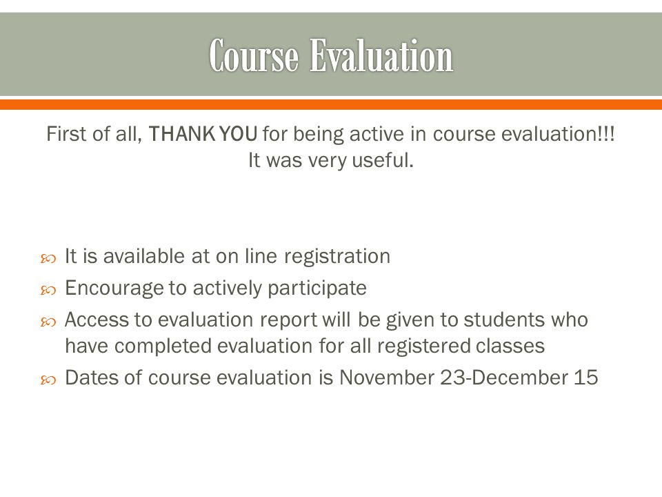 Updated academic polices and regulation can be found on line, at Registrars web page: http://www.auca.kg/en/registrar_rules/