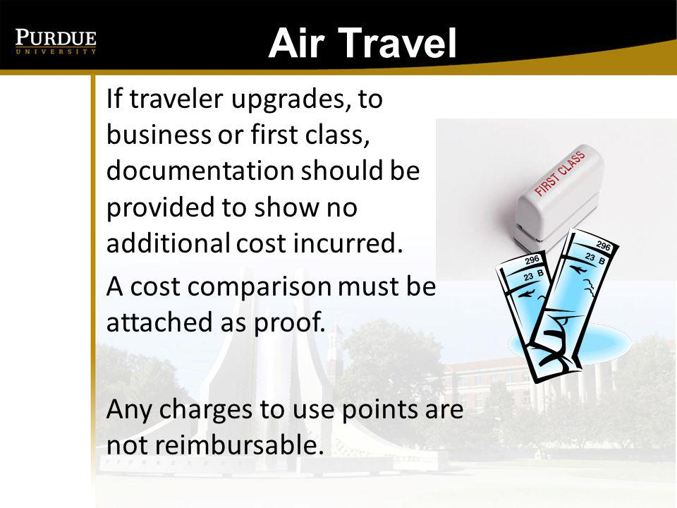 Air Travel Why must I travel using US Flag Air Carrier when using federal funds.