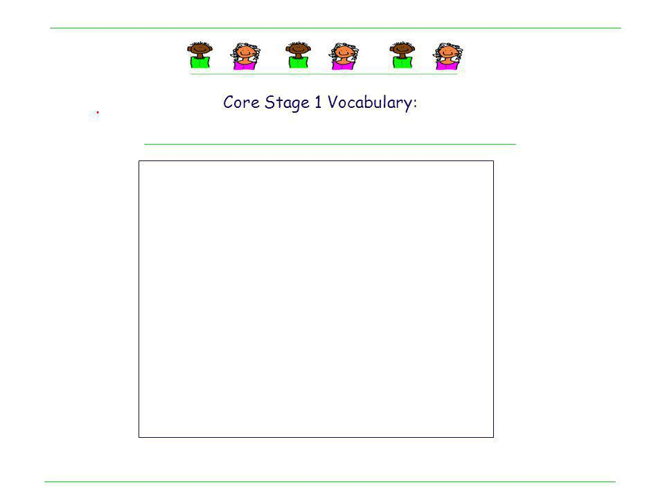 . Kindergarten student: Adapting a low tech book Core Stage 1 Vocabulary: snack