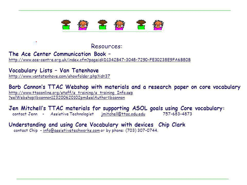 . Handouts for this session are available at: http://bcannon.wikispaces.com/http