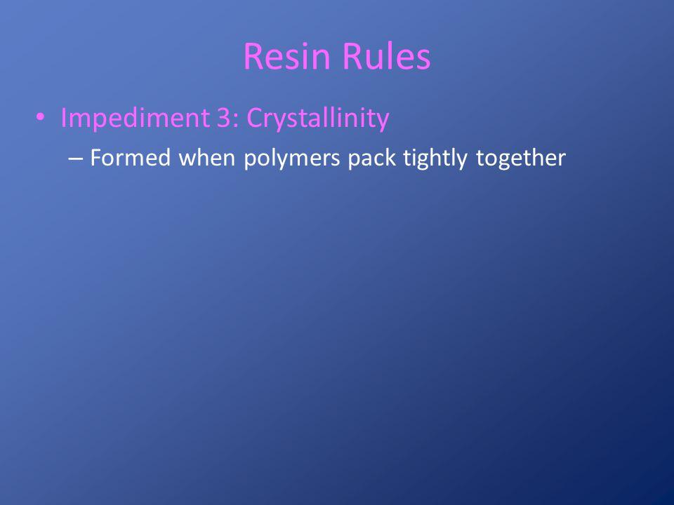 Crystalline Region Amorphous Region Covalent Bond (shared electrons) Polymeric Molecules
