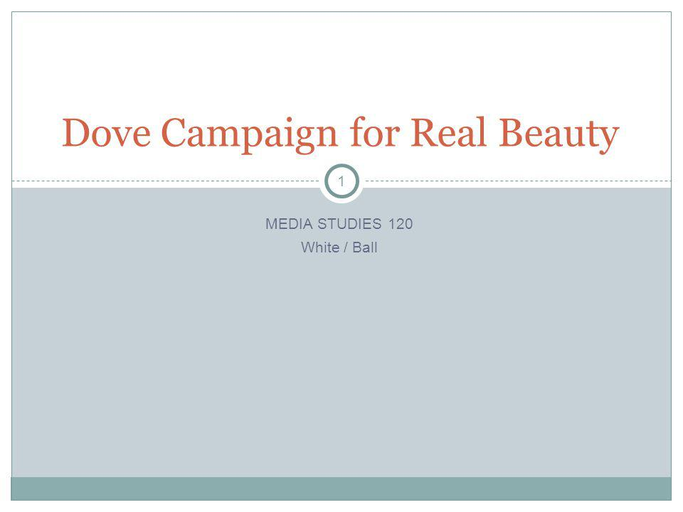 2 The Campaign In 2004, Dove launched the very successful Campaign for Real Beauty which features real women, not models, advertising Dove s firming cream.
