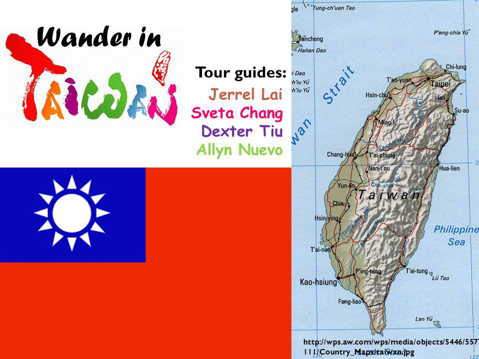 Let us embark on a tour around Taiwan .