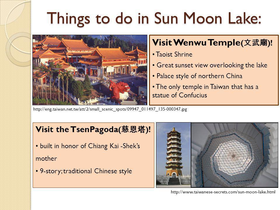 Things to do in Sun Moon Lake: Ride the gondola.