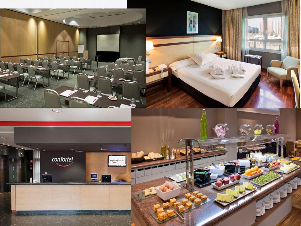 HOTEL RATES CONFORTEL PIO XII **** Price per double room for single use per night115,00 Price per double room per night126,50 Buffet breakfast and V.A.T.