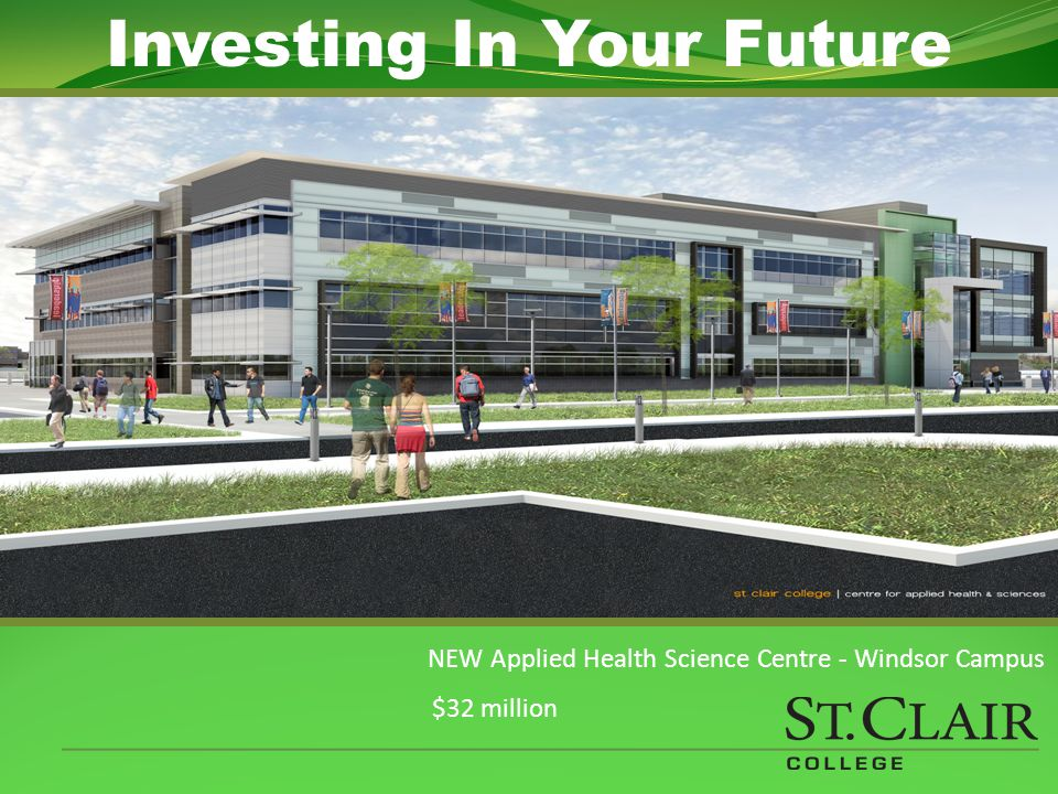 Media Plex – Windsor Campus $7 million Investing In Your Future