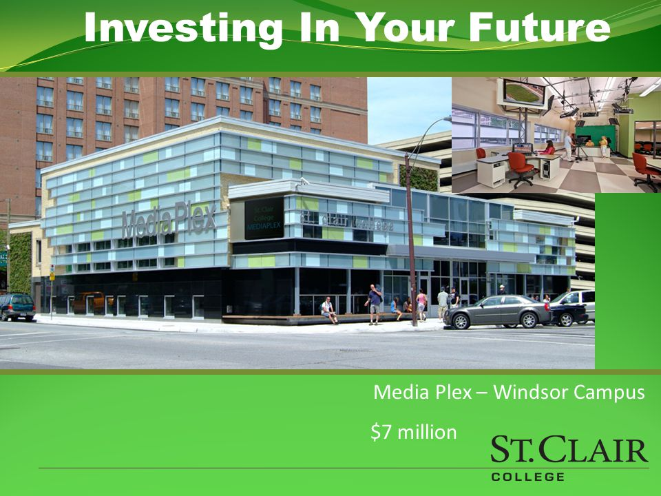 Health Plex – Windsor Main Campus $32 million Investing In Your Future