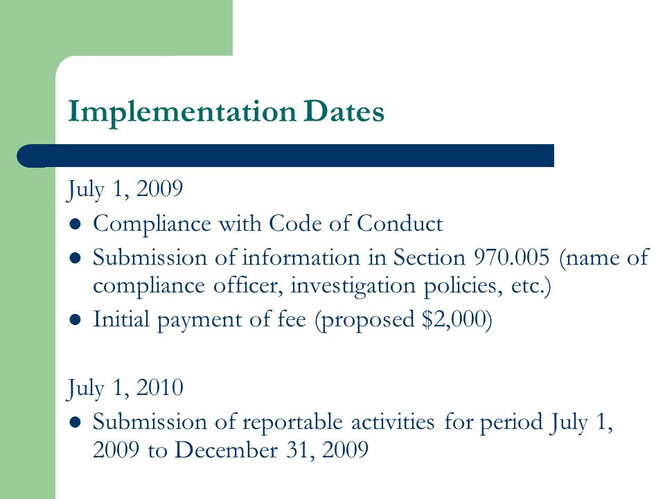 Department Process Hold public hearings.