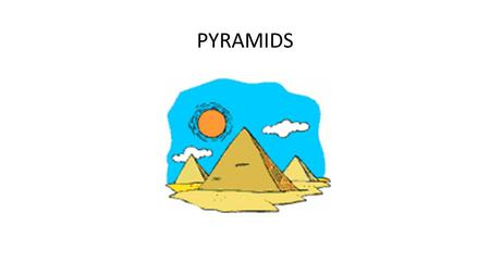 PYRAMIDS. Slicing a Right Rectangular Pyramid with a Plane.