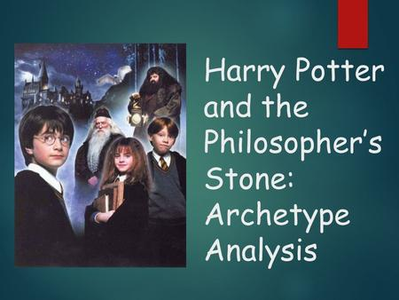 Harry Potter and the Philosopher's Stone: Archetype Analysis
