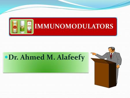 IMMUNOMODULATORS Dr. Ahmed M. Alafeefy. The Immune Response - why and how ? Discriminate: Self / Non self Destroy: Infectious invaders Dysregulated self.