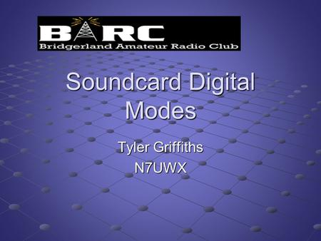 Soundcard Digital Modes