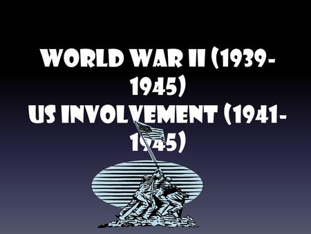 the reasons for americas involvement in world war two The united states got involved in world war ii after the japanese attacked pearl harbor in hawaii the attack occurred after the united states refused to continue trading iron and gasoline to japan japan needed these items to continue their war with china before the attack on pearl harbor .