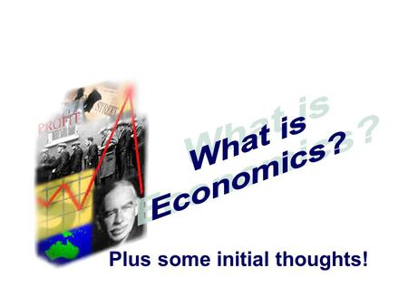 Plus some initial thoughts!. ECONOMICS What is needed for HSC SUCCESS?