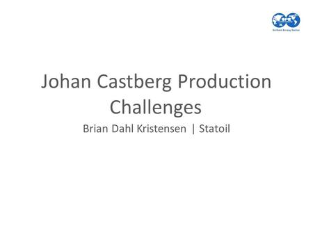 Johan Castberg Production Challenges