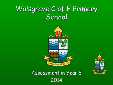 Walsgrave C of E Primary School