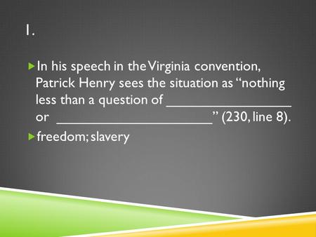 the declaration of independence and patrick henrys speech in the virginia convention arguments for a The declaration of independence and patrick henry's speech in the virginia  convention - arguments for american independence pages 3 words 689.