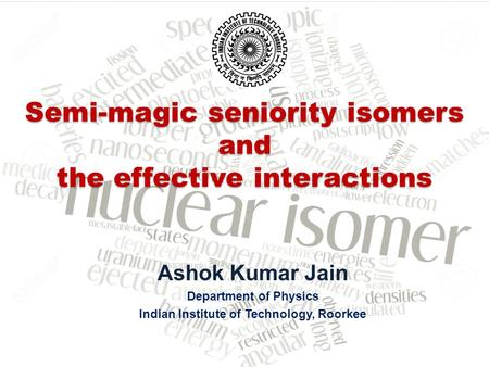 Semi-magic seniority isomers and the effective interactions