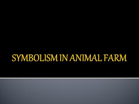 a summary of the rebellion towards equality in animal farm by george orwell Animal farm is a satirical fable set on manor farm, a typical english farm orwell employs a third-person narrator, who reports events without commenting on them directly the narrator describes things as the animals perceive them.