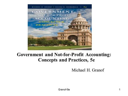 Acct 410 government and not for