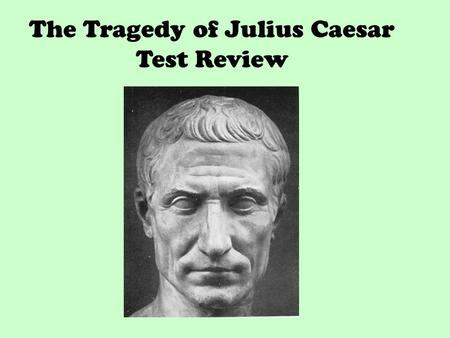 the important characteristics of a tragic hero in the play julius caesar In the play julius caesar, the tragedy of the play was directed mainly at one specific character, marcus brutus brutus was the tragic hero of the play, because of his idealistic and pragmatic qualities.