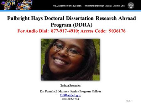doctoral dissertation help fulbright hays