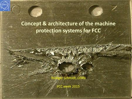 Concept & architecture of the machine protection systems for FCC