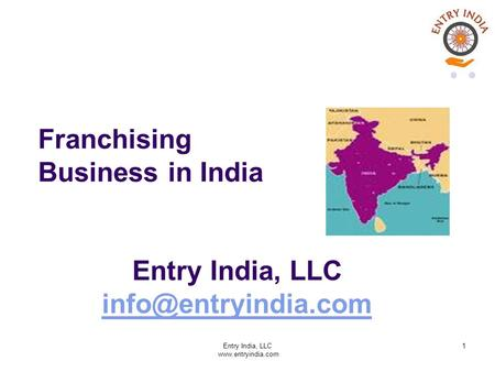 Franchising Business in India