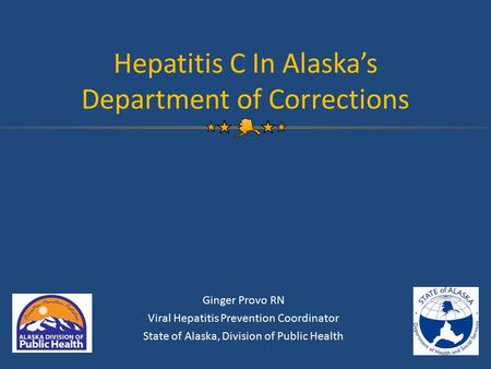 Hepatitis C In Alaska's Department of Corrections