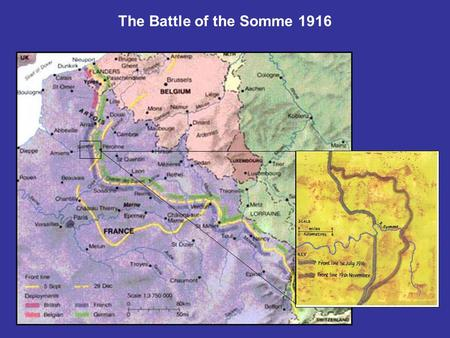 The Battle of the Somme 1916. Field-Marshall Sir Douglas Haig 'The Butcher of the Somme'? Was the Battle of the Somme a success or a failure? Why do you.