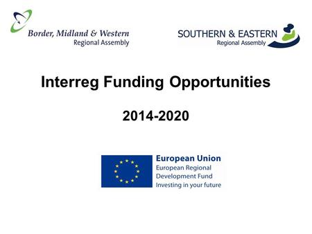 Interreg Funding Opportunities