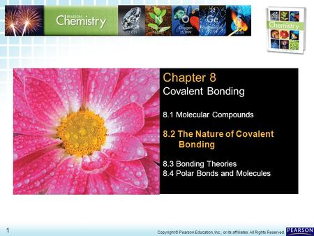 Chapter 8 Covalent Bonding 8.2 The Nature of Covalent Bonding