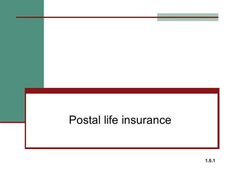 Postal life insurance 1.6.1. Postal Life Insurance Eligibility Permanent resident in India who are employees of Central and state Govts Defence services.