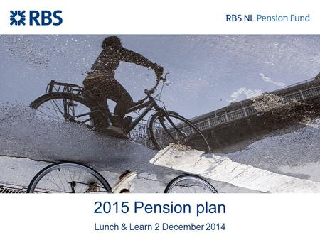 2015 Pension plan Lunch & Learn 2 December 2014. What you should remember - Valuable pension for valuable employees - Less pension accrual - Get in control.