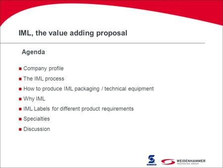 IML, the value adding proposal