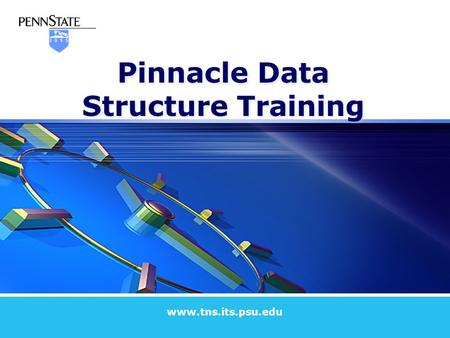 Pinnacle Data Structure Training www.tns.its.psu.edu.
