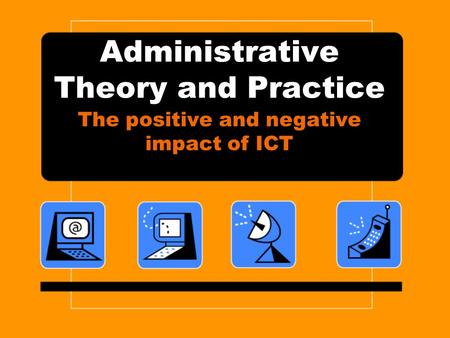 the positive and negative effects of telecommuting Technical background document on impacts of telecommuting based on a review of the empirical literature whether positive or negative, is relatively small while the net effect of telecommuting in the short run still.